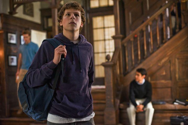 Mark Zuckerberg (Jesse Eisenberg) als Harvard-Student