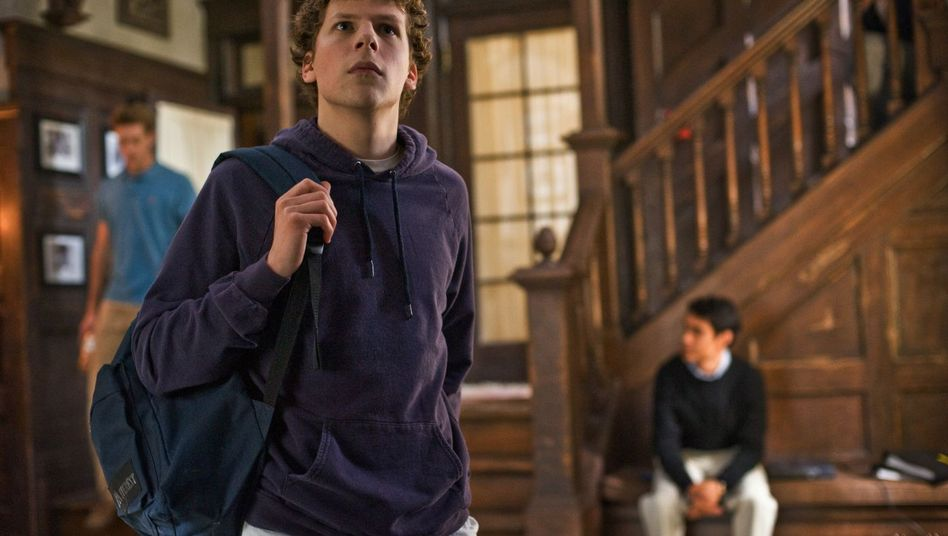"Facebook-Film ""The Social Network"", Hauptdarsteller Eisenberg: Beste Oscar-Chancen?"