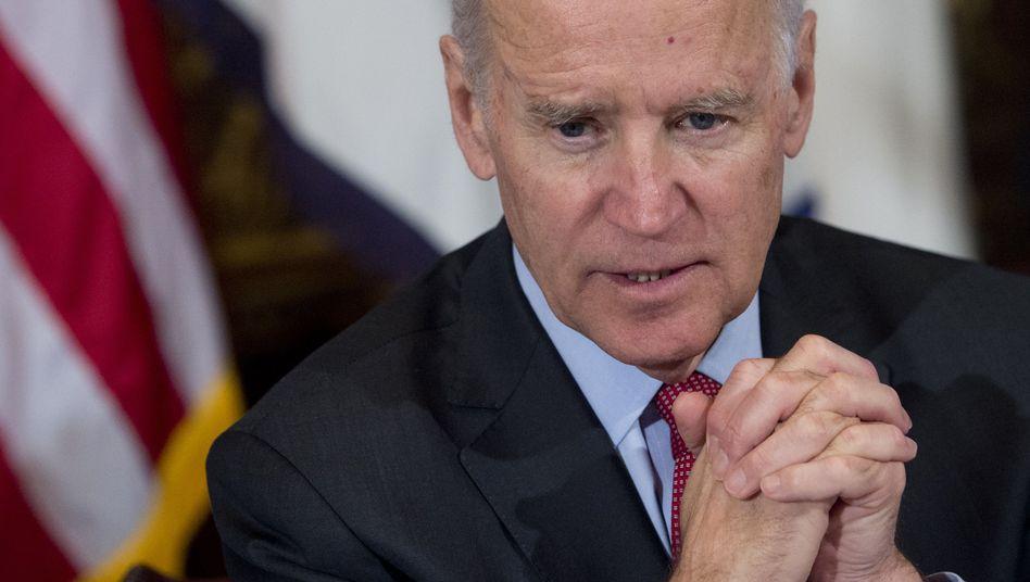 """US-Vizepräsident Biden: """"Maximale Zurückhaltung"""""""