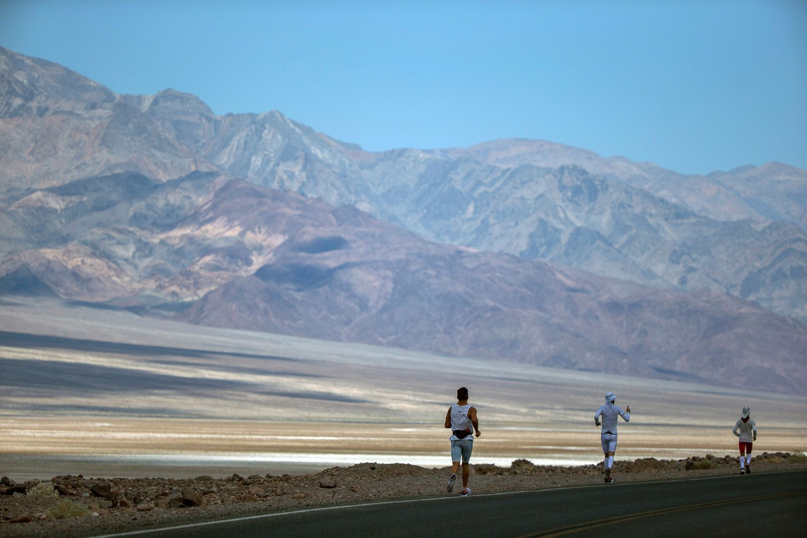 Marathon / Badwater Ultramarathon / Death Valley National Par