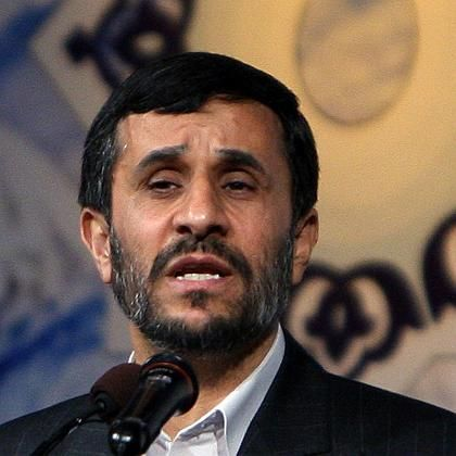 """German Chancellor Angela Merkel on Iranian President Mahmoud Ahmadinejad: """"If Iran were to acquire the nuclear bomb, the consequences would be disastrous -- first and foremost for the existence of Israel."""""""