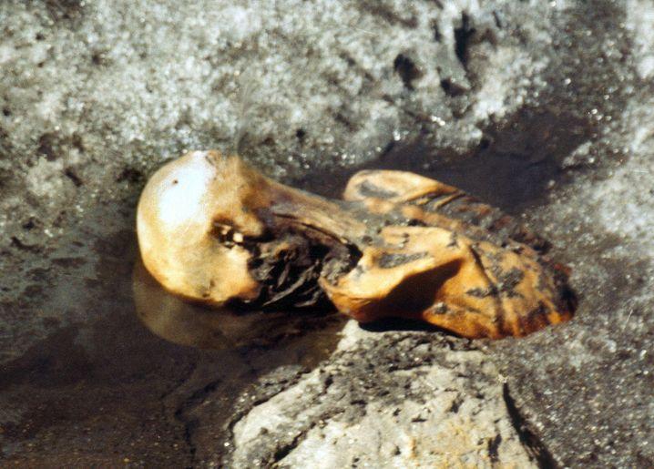 Erstes Ötzi-Bild, 1991