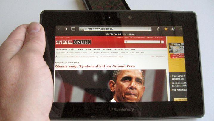 Playbook: Ein Tablet für das Blackberry