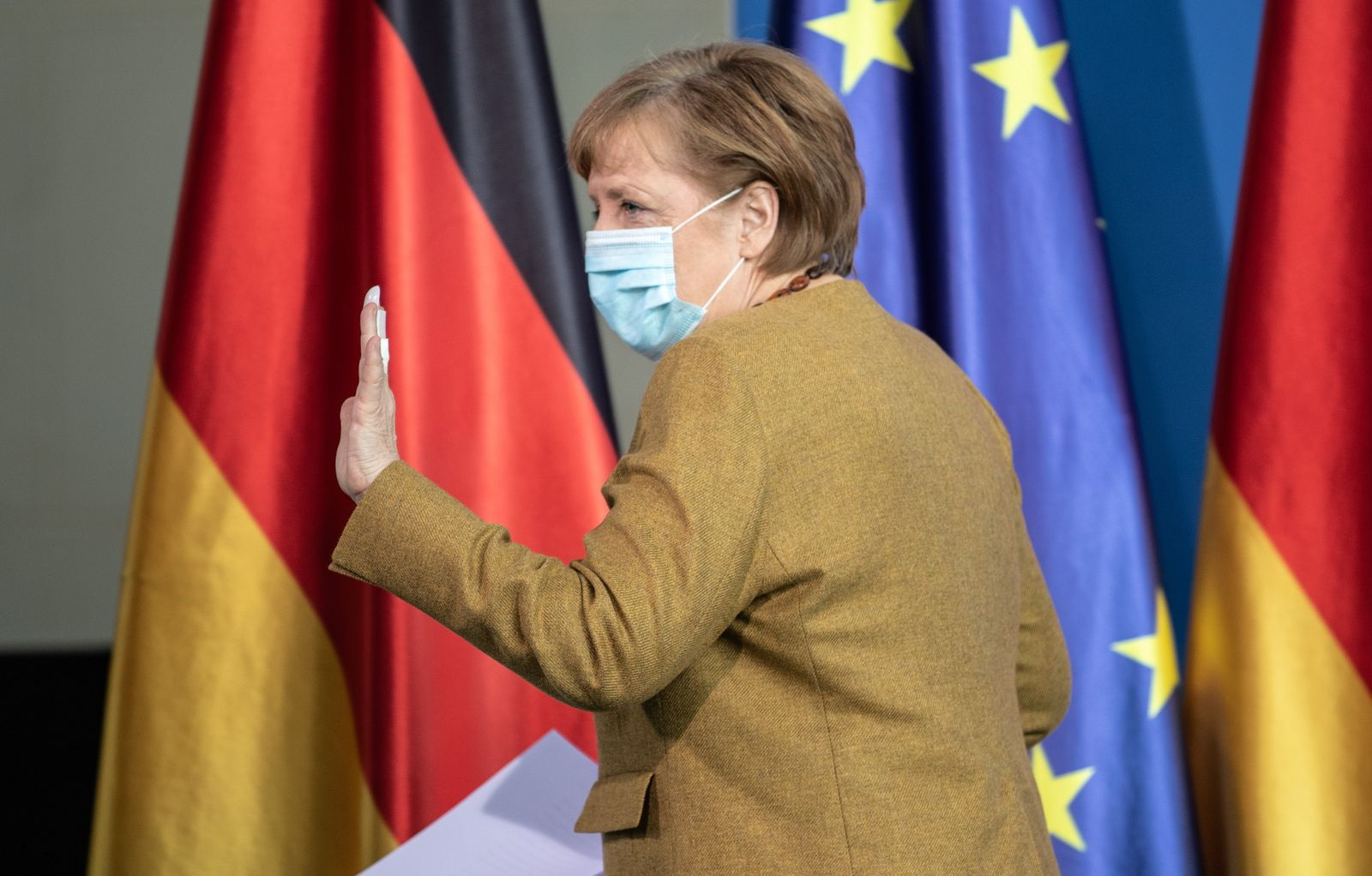 German chancellor Merkel statement after cabinet meeting on German infection protection law