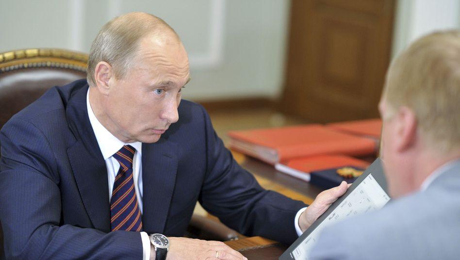 """Wladimir Putin mit """"russischem iPad"""": Gepriesen, gefördert, gefloppt"""