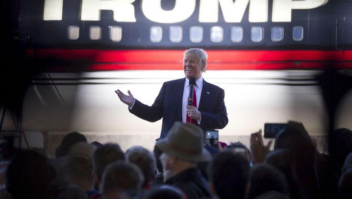 Angeber Trump: Sein Haus, sein Flugzeug, seine Hotels