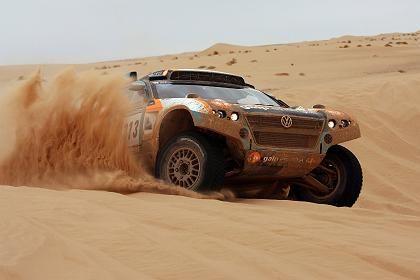"""Volkswagen-Rennwagen bei der Rallye Dakar: """"immense Frustration"""""""