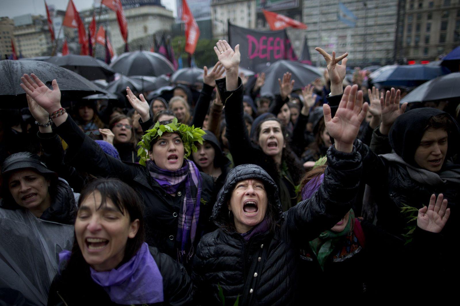 Argentinien Frauenproteste