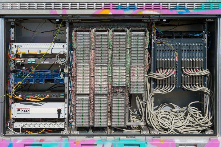 Digitalknotenpunkt bei Berlin