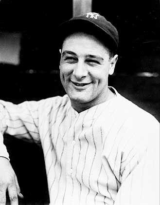 Lou Gehrig: Nach dem Baseball-Spieler der New York Yankees wurde die Nervenkrankheit benannt