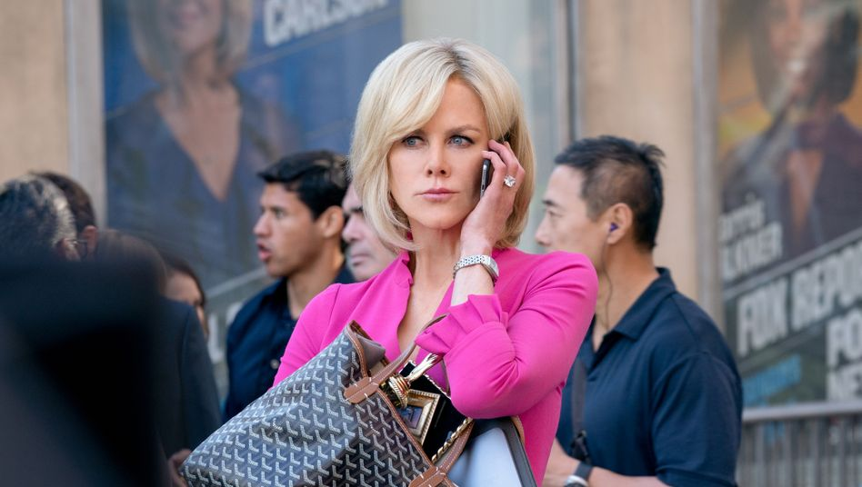Nicole Kidman tritt grotesk maskenhaft und keineswegs besonders sympathisch auf