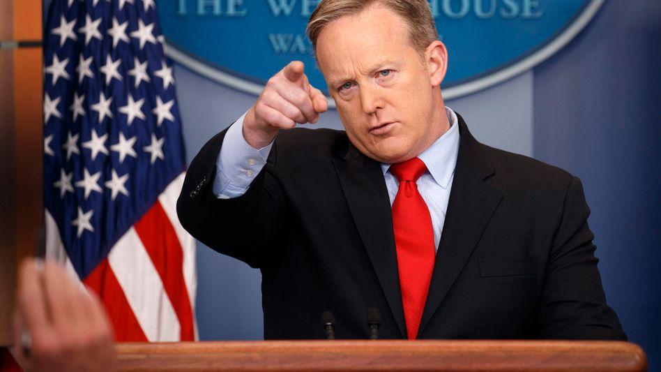 US-Regierungssprecher Sean Spicer