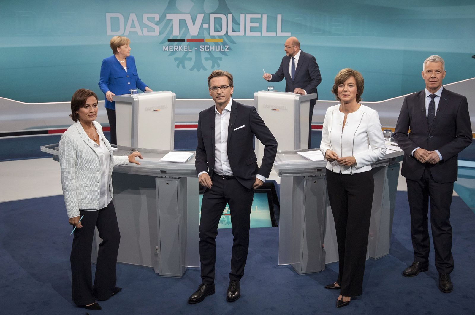 TV-Duell / Claus Strunz