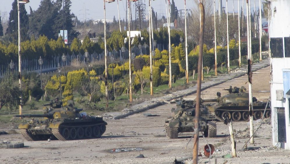 Syrien: Bombenhagel auf Homs