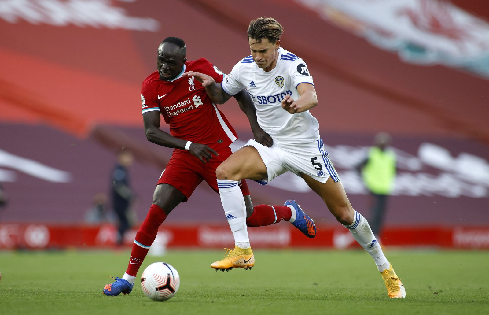 Liverpool v Leeds United - Premier League - Anfield