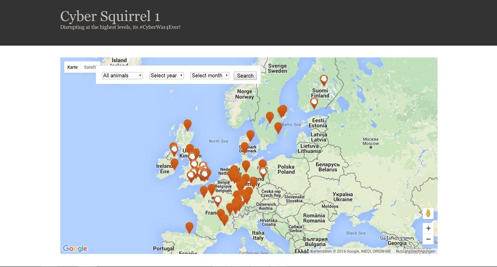 NUR ALS ZITAT Screenshot Cyber Squirrel