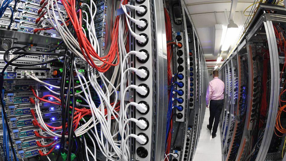 Rechenzentrum in Karlsruhe: rund drei Prozent des gesamten Stromverbrauchs