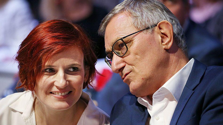 Parteichefs Kipping, Riexinger