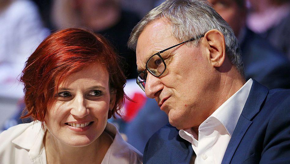Katja Kipping, Bernd Riexinger