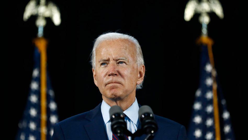 Joe Biden liegt deutlich vor Donald Trump in den Umfragen, er musste dafür bislang relativ wenig tun