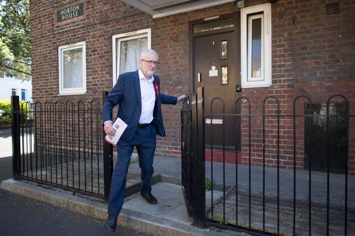Labour-Chef Jeremy Corbyn: Wirbt per Brief für ein Misstrauenvotum gegen Johnson