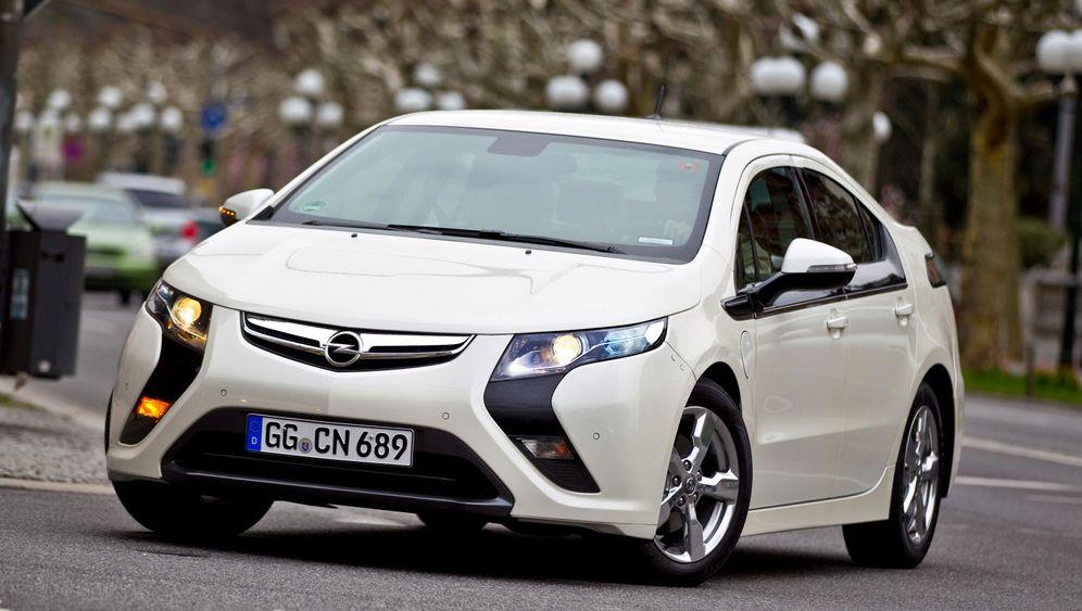 Opel Ampera: Elektrischer Sprit