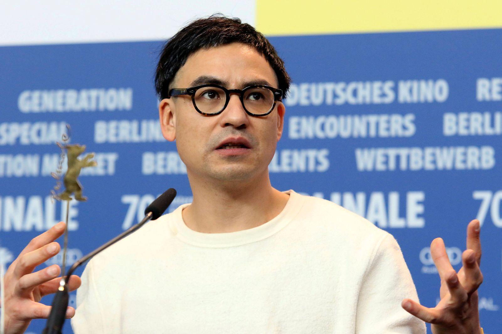 Burhan Qurbani bei der Pressekonferenz zu Berlin Alexanderplatz auf der Berlinale 2020 / 70. Internationale Filmfestspi