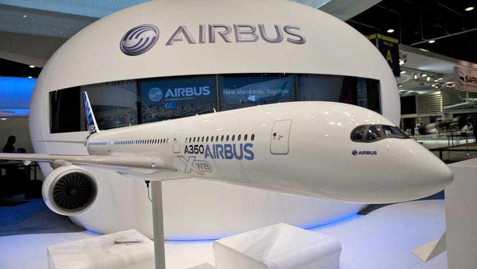 A350-Modell: Bundesregierung hält Anschubfinanzierung zurück