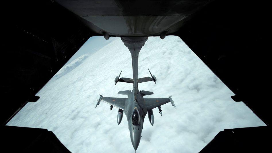 US-Jet über Syrien