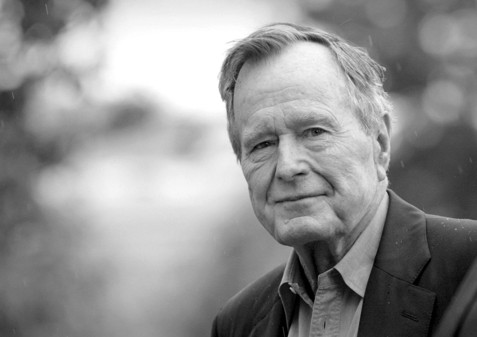 George Bush gestorben/ Portrait