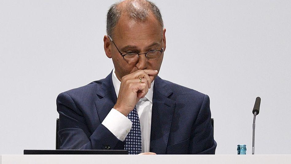 Werner Baumann, Vorstandsvorsitzender der Bayer AG