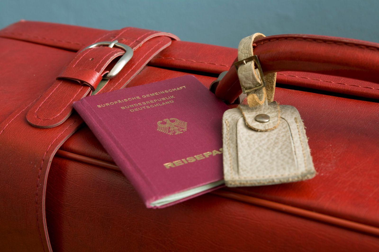 Verreisen mit Reisepass