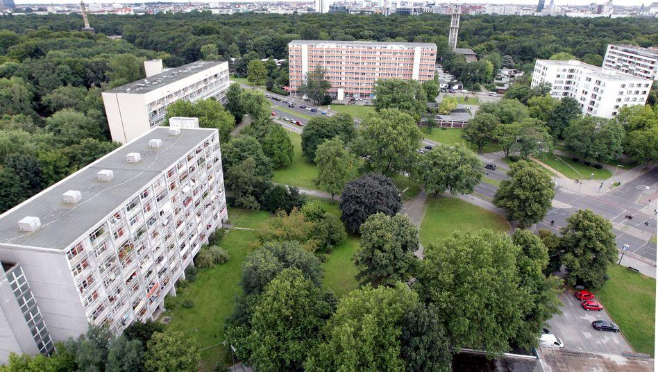 Häuser am Rande des Berliner Tiergartens (Archiv)