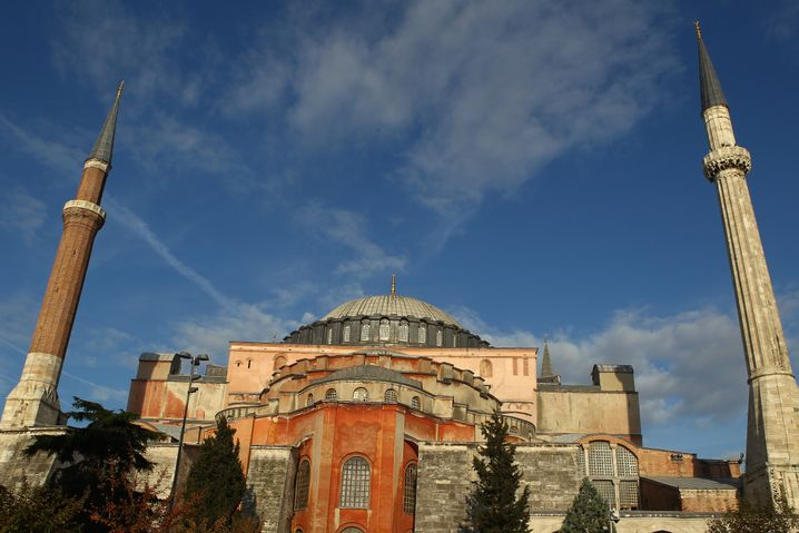 Hagia Sophia in Sultanahmet: In der Nähe ereignete sich die Explosion