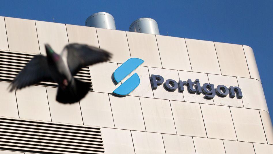 Portigon-Logo in Düsseldorf