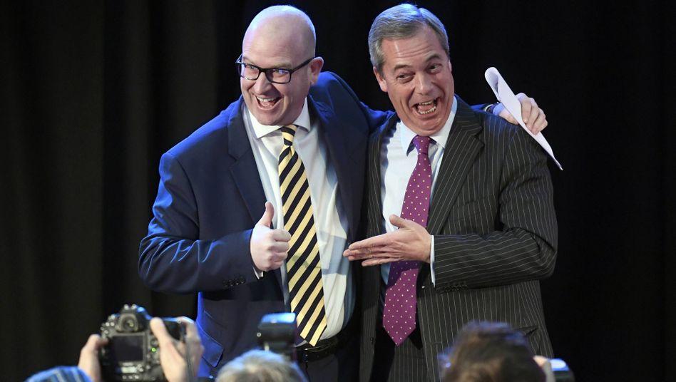 Ukip-Politiker Nuttall, Farage