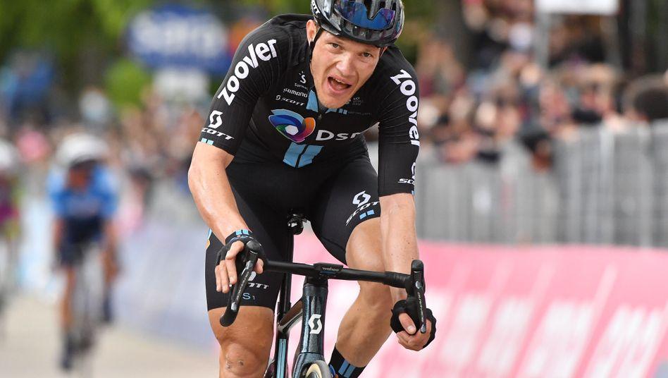 Nikias Arndt kam auf dem dritten Platz ins Ziel
