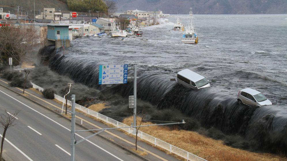 Japans Mauer gegen Tsunamis: Barriere zum Meer
