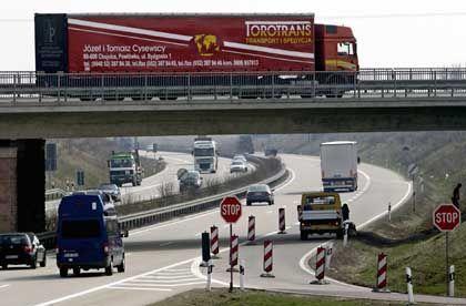 Autobahnbrücke: Zahlreiche Querungen aus Spannbeton sind in die Jahre gekommen