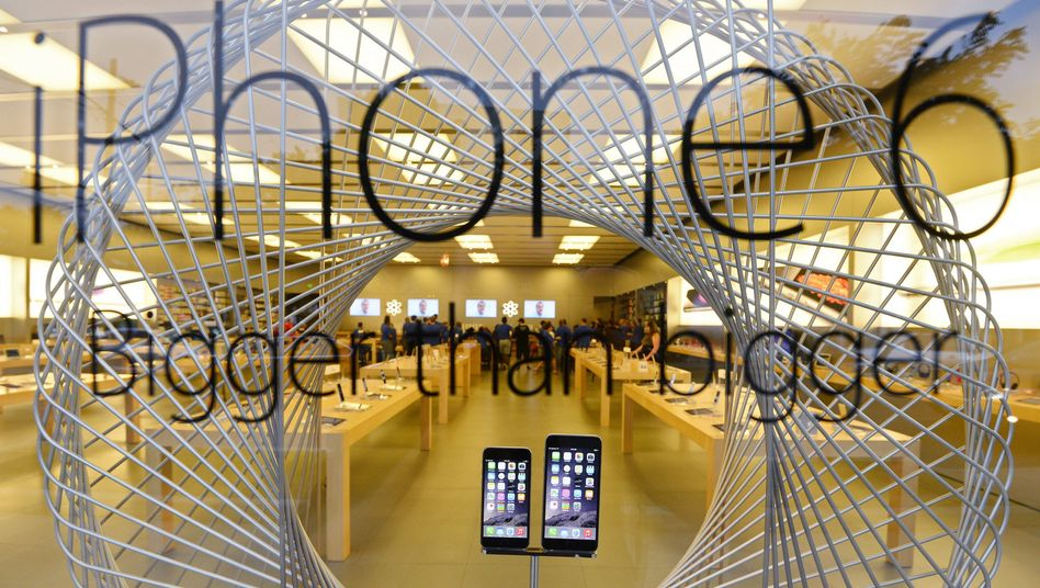 Neue iPhones: Apple-Aktie stürzte ab