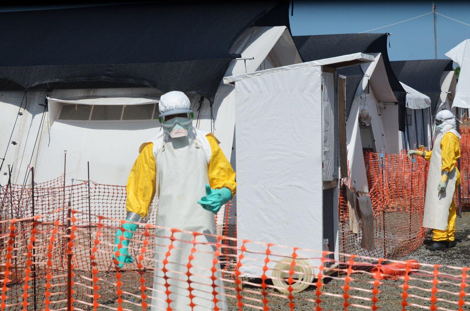 Ebola MSF Monrovia