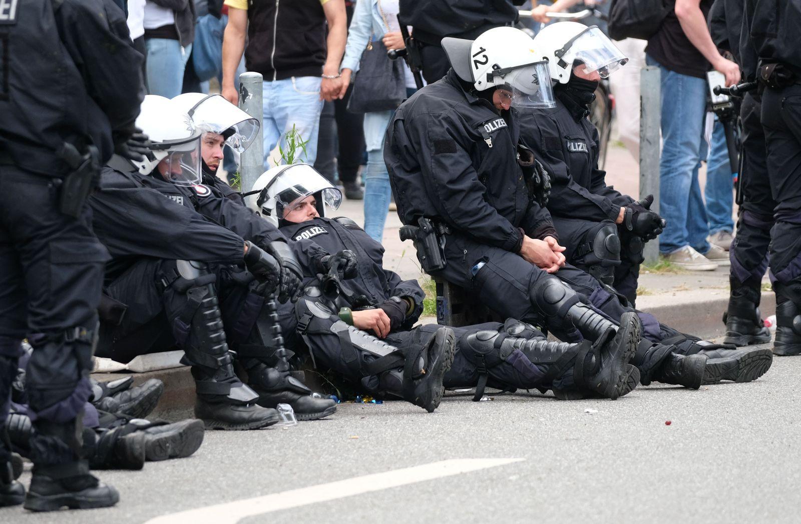 G20 Gipfel - Polizei