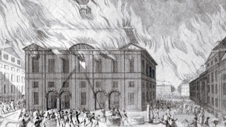 Großbrand in Kopenhagen