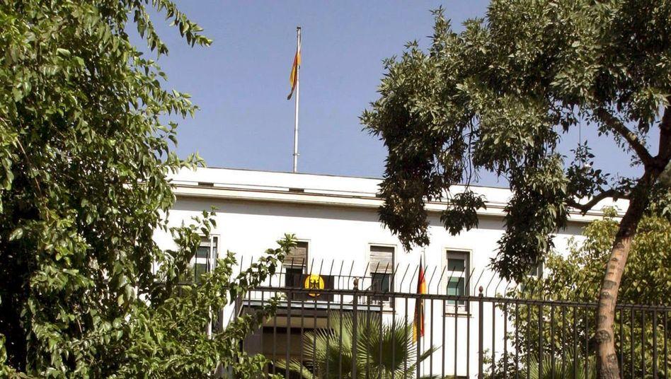 Deutsche Botschaft in Teheran (Archivbild): Termine nur gegen Bares?