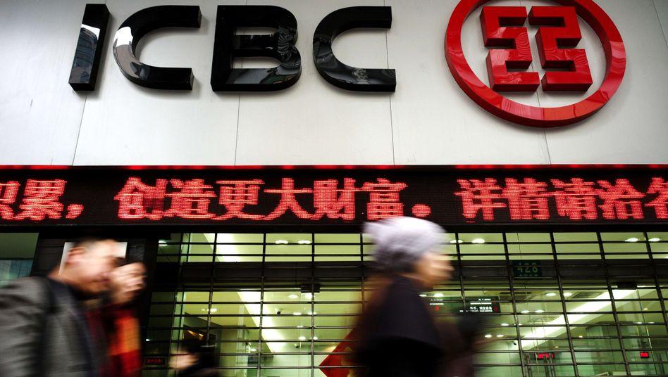 ICBC-Filiale in Shanghai: Zeitweise kein Geldabheben möglich?