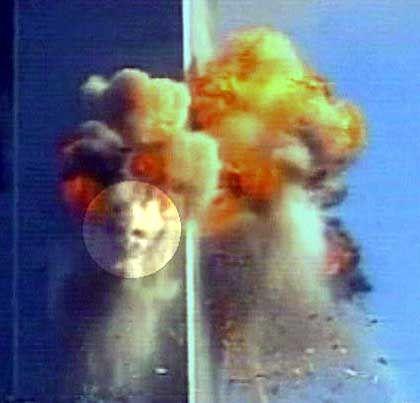 """Mehr oder weniger echt: CNN-Bild der """"Teufelsfratze"""", farblich hervorgehoben"""