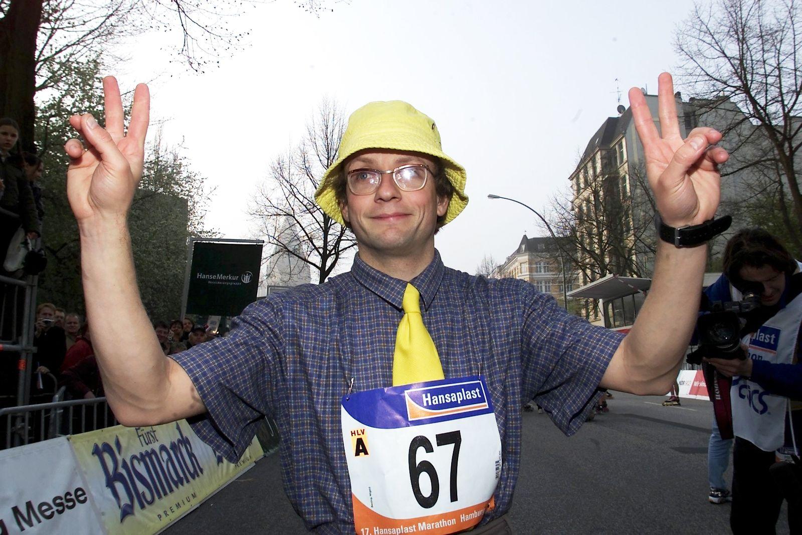 NICHT VERWENDEN Wigald Boning/ Marathon