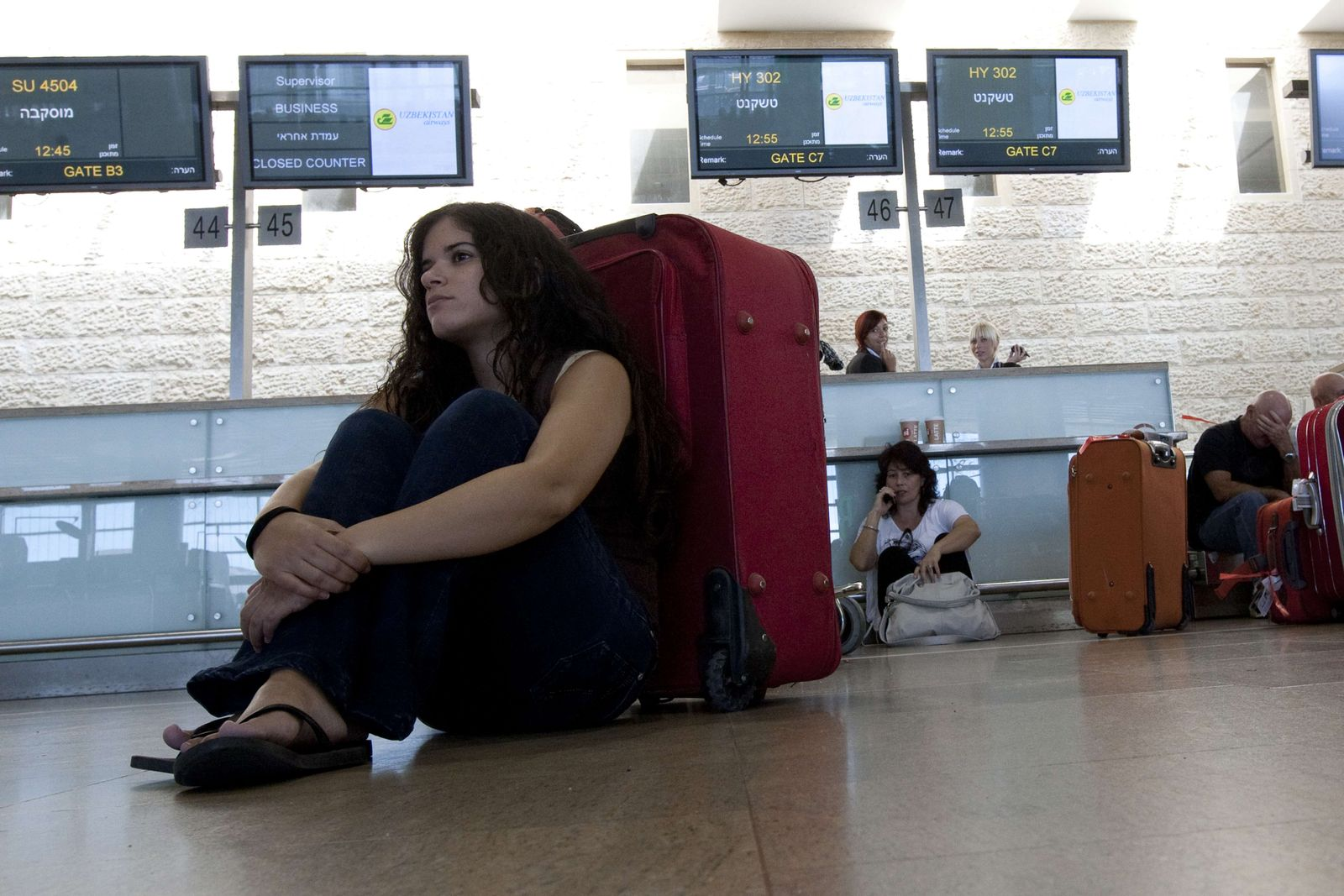 Israel / Flughafen / Streik
