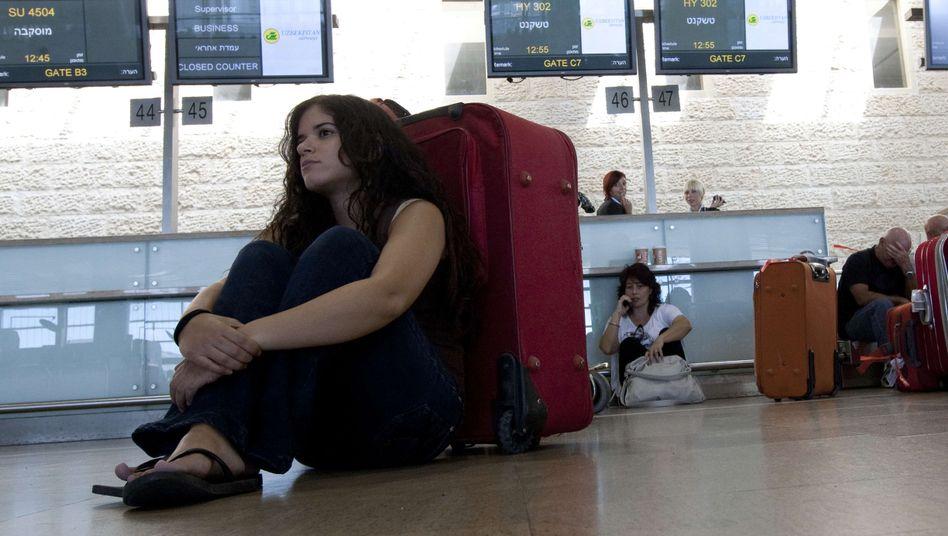 Streik in Israel: Keine Maschine verlässt mehr den Boden des Flughafens Tel Aviv