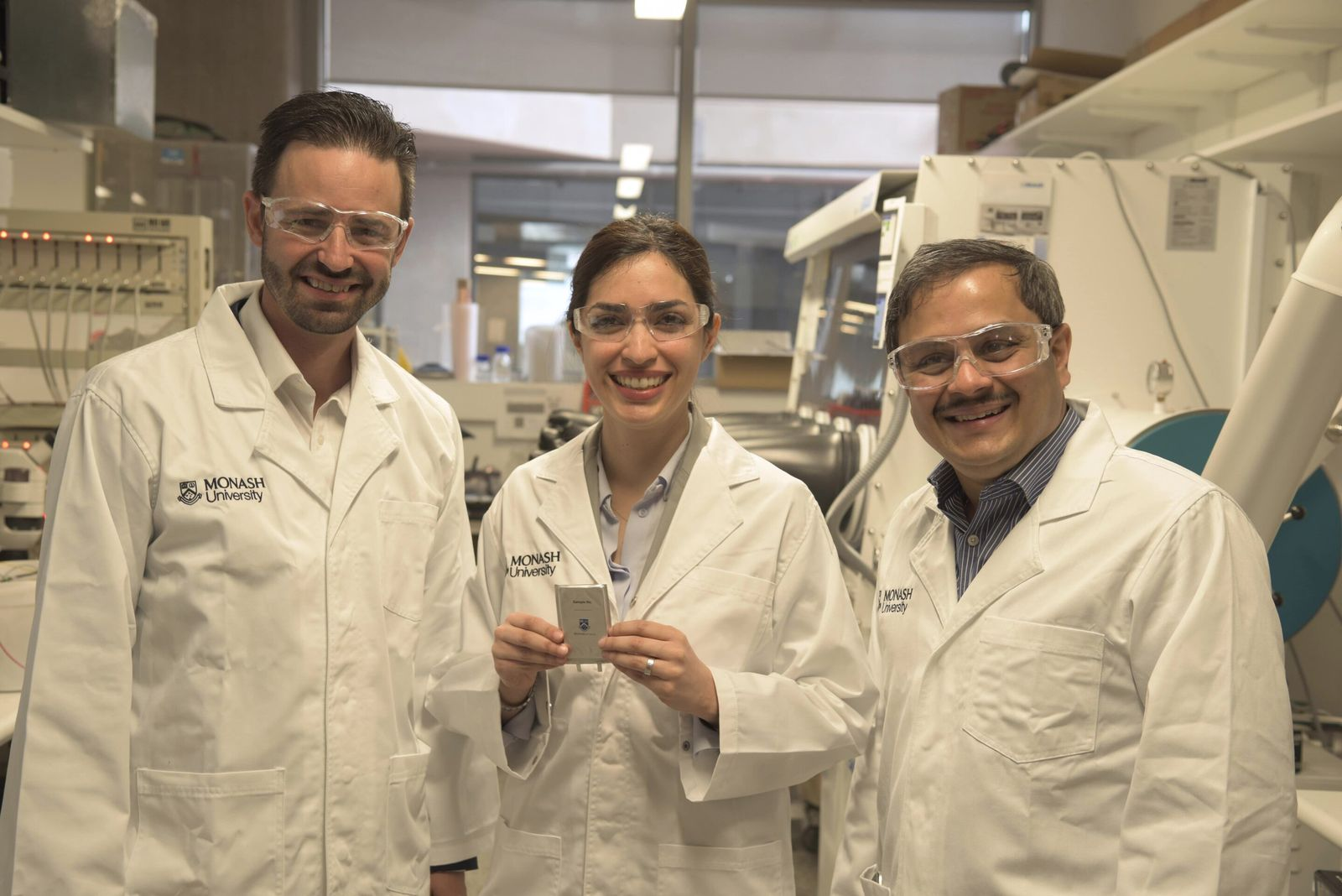 Neue Lithium Batterie/ Test/ Australien/ Monash University